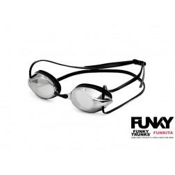 Funky okulary pływackie Training Machine czarne