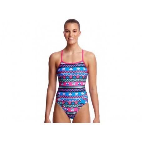 Funkita strój kąpielowy damski Miss Foxy Single Strap