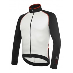 Zero RH+ bluza kolarska Zero Thermo Jersey black white red