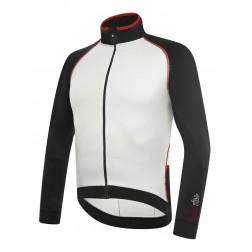 Zero RH+ bluza kolarska Zero Thermo Jersey black white red