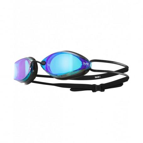 TYR okulary TRACER-X Racing Mirrored Blue/Black