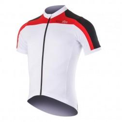 Zero RH Koszulka rowerowa Space Jersey white-black-red