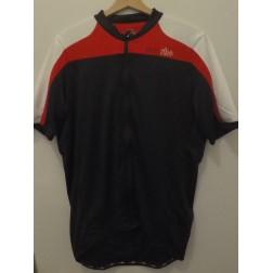 Zero RH Koszulka rowerowa Space Jersey black-white-red