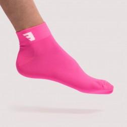 HERO Skarpetki sportowe SHORT fluo pink
