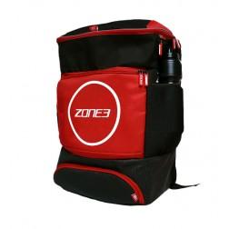 ZONE3 Plecak Transition czarno-czerwony