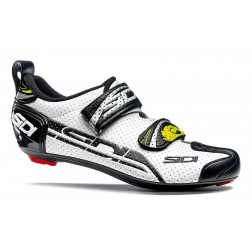 SIDI Buty Triathlonowe T-4 Air Carbon biało-czarne