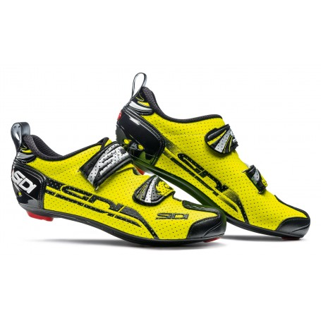 SIDI Buty Triathlonowe T-4 Air Carbon żółto-czarne