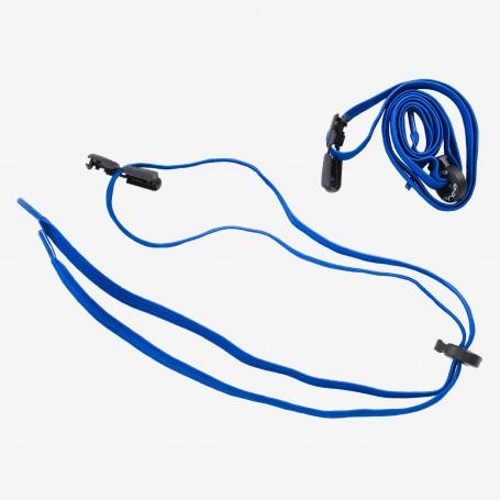 Orca sznurowadła speed laces grube niebieskie