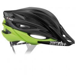 Zero RH+ kask rowerowy RIDER Matt Black / Acid Green