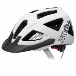 Zero RH+ kask rowerowy BLACK COMBO Matt White