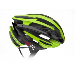 Zero RH+ kask rowerowy ZY Matt Green / Arrow Shiny Black