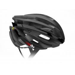 Zero RH+ kask rowerowy ZY MIPS Matt Black / Arrow Shiny Black