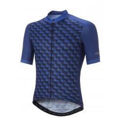 Zero RH+ Koszulka kolarska Passion Jersey DarkBlue/Bluette