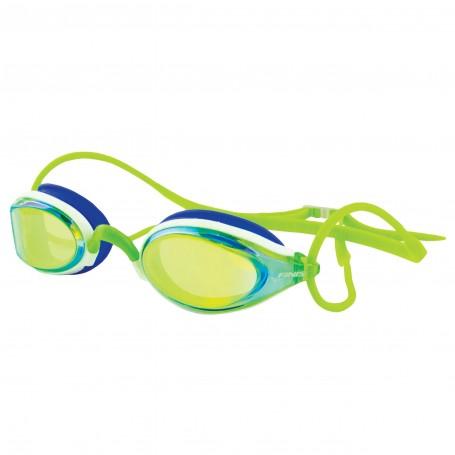 Finis Okulary pływackie Circuit green/mirror