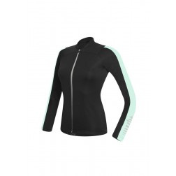 Zero RH+ Koszulka rowerowa damska Spirit Long Sleeve Jersey FZ black-pastel