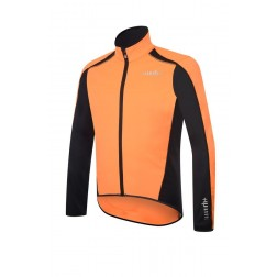 Zero RH+ kurtka kolarska Prime Evo Jacket light orange/black