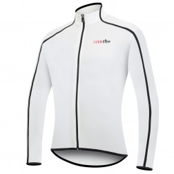 Zero RH+ koszulka kolarska Prime Long Sleeve Jersey FZ white-black