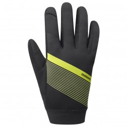 Shimano rękawiczki rowerowe Wind Control yellow