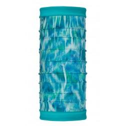 Buff komin Reversible Polar US Shimmer Turquoise