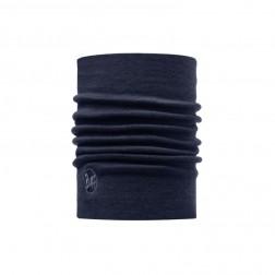 Buff komin Heavyweight Merino Wool Solid Denim