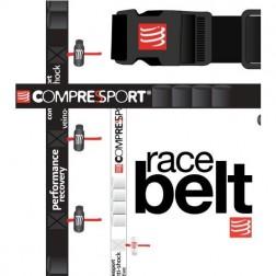 COMPRESSPORT RACE BELT pasek na numer startowy czarny
