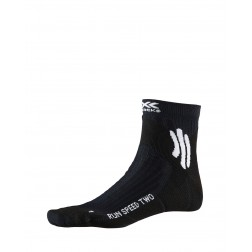 X-SOCKS Skarpetki Run Speed Two 4.0 Opal Black