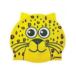 Finis czepek dziecięcy Animal Heads Leopard