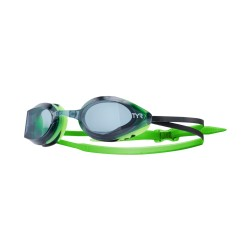TYR okulary pływackie Edge-X Racing black/green
