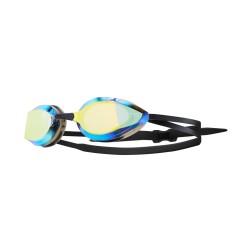 TYR okulary pływackie Edge-X Racing Mirrored silver/red