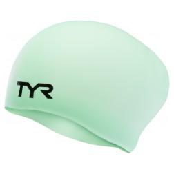 TYR czepek pływacki Long Hair black/pink