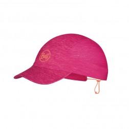 Buff Czapka Pack Run Cap R-Pink HTR