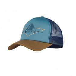 Buff Czapka Trucker Cap Brak Stone Blue