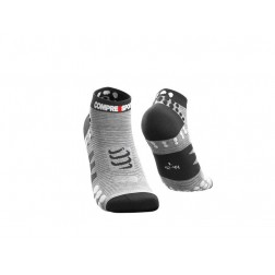 Compressport Skarpetki do biegania krótkie ProRacing Socks v3.0 Grey Melange