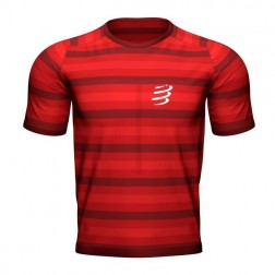 Compressport t-shirt Performance red