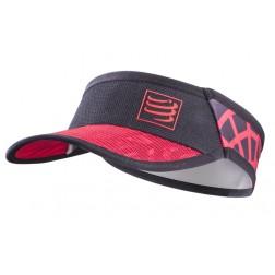 Compressport daszek Spiderweb Ultralight red/black