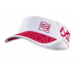 Compressport daszek Spiderweb Ultralight red/white