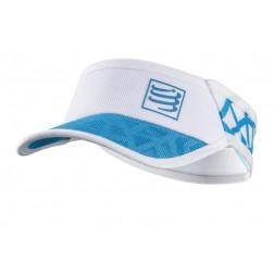 Compressport daszek Spiderweb Ultralight white/blue
