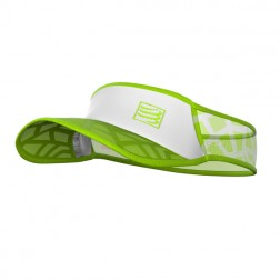 Compressport daszek Spiderweb Ultralight white/green