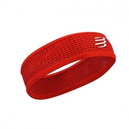 Compressport opaska na głowę On/Off Thin Headband V3 red