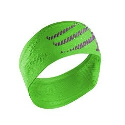 Compressport opaska na głowę On/Off Headband Fluo Green