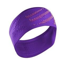 Compressport On/Off Headband Fluo Violet