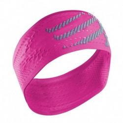 Compressport On/Off Headband Fluo Pink
