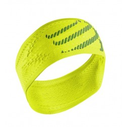 Compressport opaska na głowę On/Off Headband Fluo Yellow