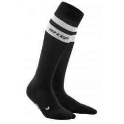 CEP 80's run socks damskie black/white