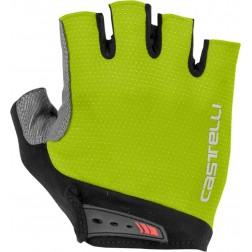 Castelli rękawiczki kolarskie Entrata chartreuse