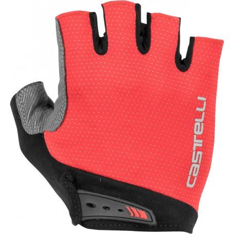 Castelli rękawiczki kolarskie Entrata RED