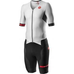 Castelli strój triathlonowy Free Sanremo 2 white-black