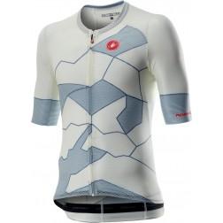 Castelli koszulka kolarska Climbers 3.0 ivory-light steel