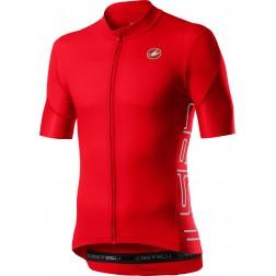 Castelli koszulka kolarska Entrata V fiery red