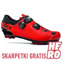 SIDI Buty MTB Eagle 10 czerwono-czarne